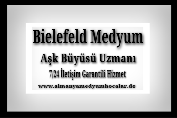 Almanya Bielefeld Medyum Hoca